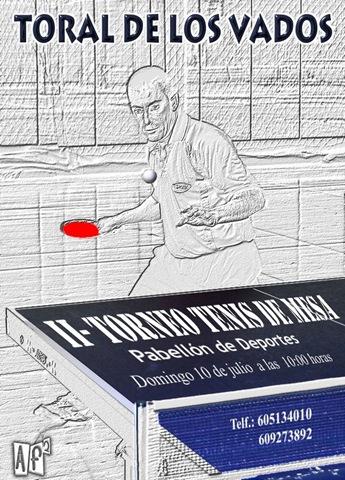 Cartel ii torneo tenis de mesa af2toral - Torneo tenis de mesa ...