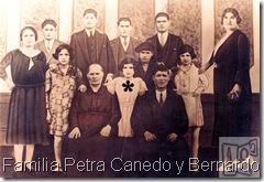 Familia Petra Canedo y Bernardo Franco.