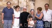 Vicente, Juli, D. Francisco,  David, Leonor  hermana de D.Francisco, Torina  y Pepe