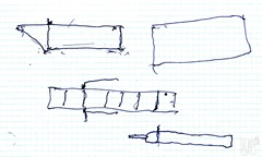 dibujo barca por Anibal de Cancela
