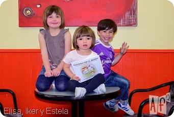 Elisa, Iker y Estela