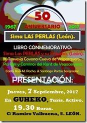 50.A. 1967-2017. Presentación Libro. Sima LAS PERLAS y su Entorno%2c (León... [Resolucion de Escritorio]