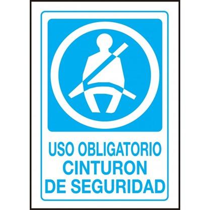 cartel-uso-obligatorio-cinturon-de-seguridad-vehiculo